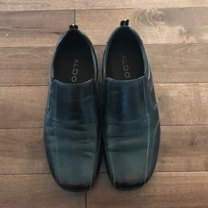Men's Aldo, slip on dress shoes, size 45 (12)